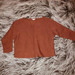 Burnt Orange Sweat Shirt